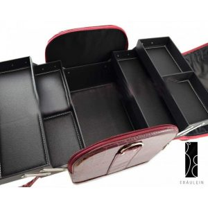 Geanta pentru make-up Burgundy Beauty Case-116