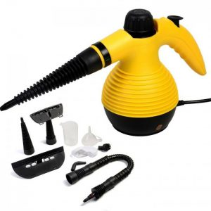 Curatator cu abur Steam Cleaner Sonashi DF-001, 1000 W, Galben-0
