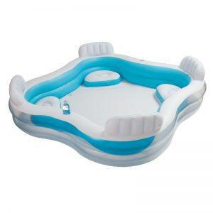 Piscina gonflabila Intex Swim Center 56475 229 x 229 x 66 cm-0