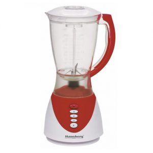 Blender multifunctional Hausberg HB-7661, 300 W, 1500 ml, Pulse, rosu-0