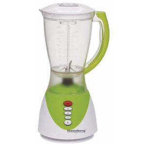 Blender multifunctional Hausberg HB-7661, 300 W, 1500 ml, Pulse, verde-0
