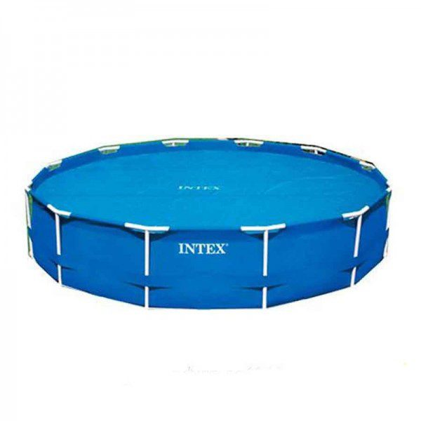 Prelata piscina Intex Easy 29024, PVC, diametru 488 cm-0