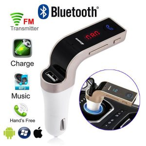 Modulator FM Car Kit auto G7 cu bluetooth-0