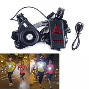 Lanterna LED pentru jogging Run Lights 1800 mAh-0