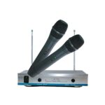 Set 2 microfoane wireless karaoke AK3300